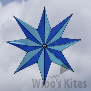 8 point star kite