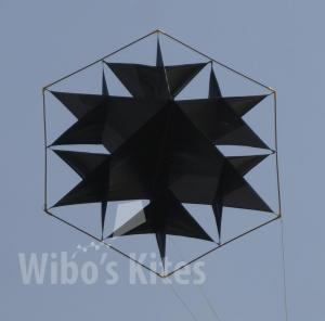 Facet Snowflake Black