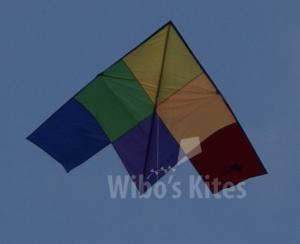 New Tech Kite - Patchwork Delta