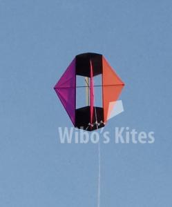 Winged Box Kite Black